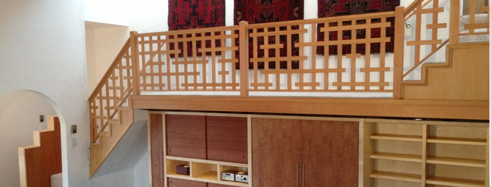 Custom cabinetry/woodwork in Taos, New Mexico